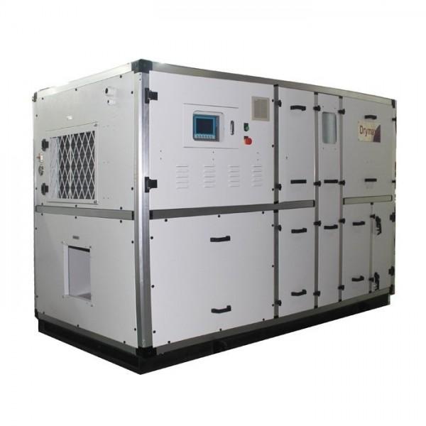 Máy hút ẩm hấp thụ DRYMAX tích hợp xử lý nhiệt ẩm Lưu lượng gió 6000M3/GIỜ
