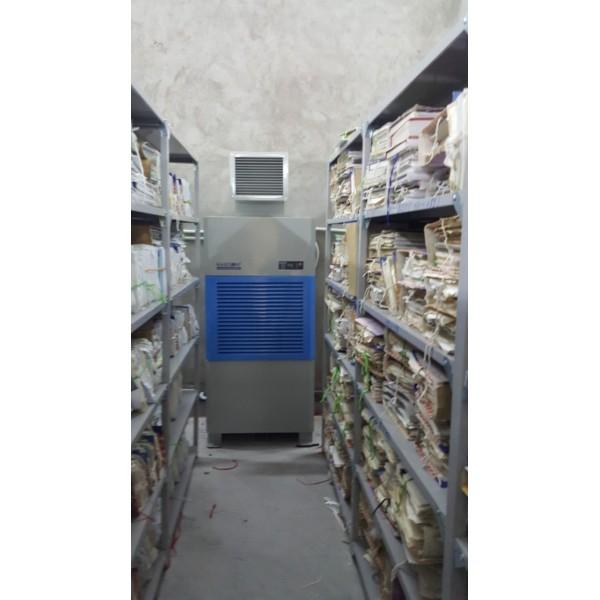 Máy hút ẩm công nghiệp Harison cho kho lưu trữ, bảo quản giấy tờ