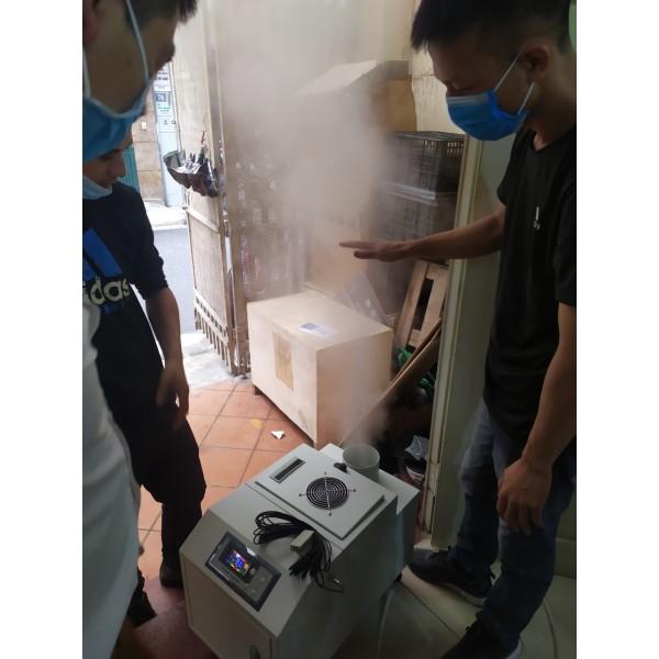 Ứng dụng của  Máy tạo ẩm phun sương công nghiệp – Sử dụng sóng siêu âm