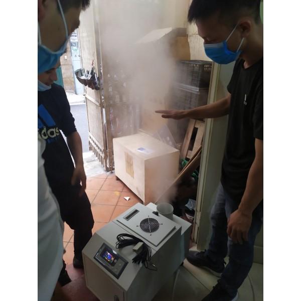 Những lưu ý khi sử dụng hệ thống máy phun sương tạo ẩm cho nhà Yến