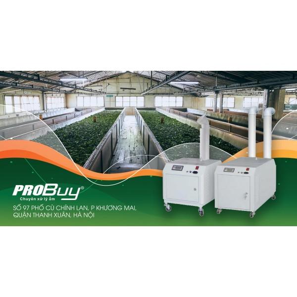 Hiểu về máy tạo ẩm phun sương công nghiệp