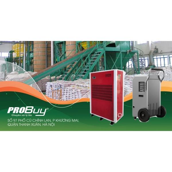 Sử dụng máy hút ẩm công nghiệp Ikeno cho kho hạt giống
