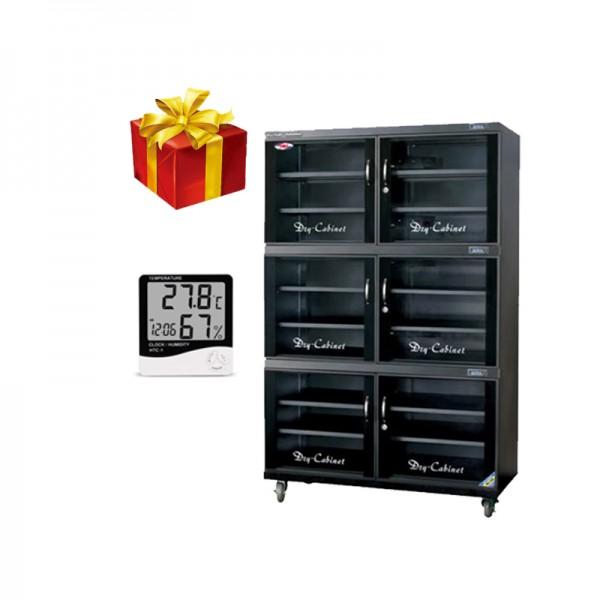 Khuyến mãi giảm giá sốc Tủ chống ẩm Drycabi DHC 400 tặng kèm nhiệt ẩm kế
