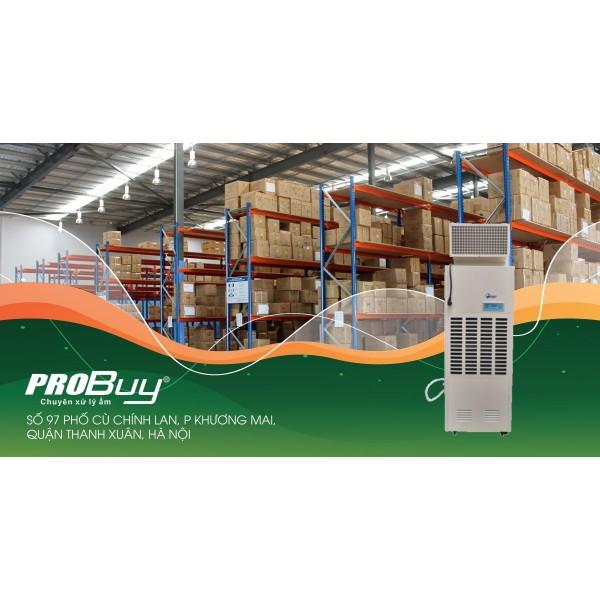 Máy hút ẩm công nghiệp FujiE HM-1800DS cải tiến tính năng xử lí ẩm