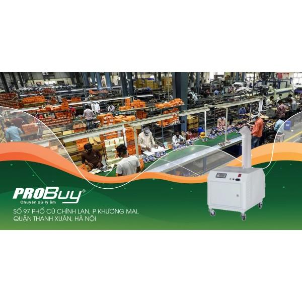 Sử dụng máy phun sương tạo ẩm nâng cao năng suất lao động