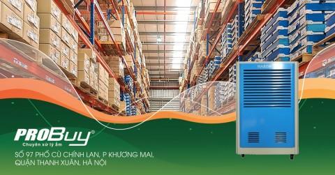 Máy hút ẩm công nghiệp Harison HD-150B giúp xử lý ẩm hiệu quả