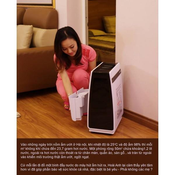 Chia sẻ chân thực của BTV Hoài Anh khi sử dụng Máy hút ẩm Edison